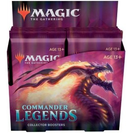 MTG Commander Legends Collector Booster(12) German