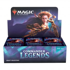 MTG Commander Legends Draft Booster Display (24) English