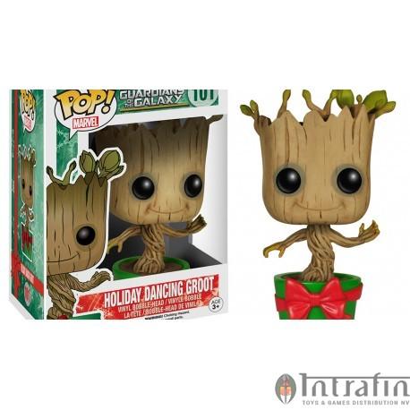 Marvel 101 POP - Guardians Galaxy- Holiday Dancing Groot