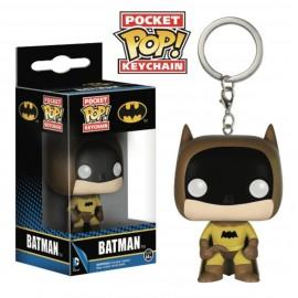POP Keychain - DC - Yellow Batman