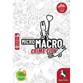 MicroMacro - Crime City- Board game