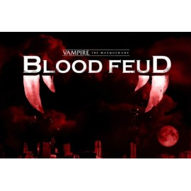 Vampire the Masquerade Blood Feud - The Mega Board Game