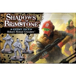 Shadows of Brimstone: Shikarri Nomad Crusaders - Enemy Pack