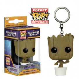 POP Keychain - Marvel - Groot in pot