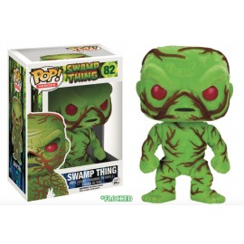 Heroes 82 POP - Swamp Thing - Flocked