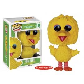 "Sesame Street 10 POP - Flocked Big Bird 6"" Oversized"