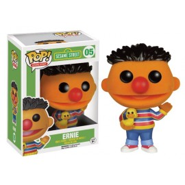 Sesame Street 05 POP - Flocked Ernie