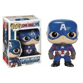 Marvel 125 POP - Civil War - Captain America
