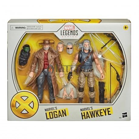 Marvel Legends X-Men Old man Logan and Hawkeye