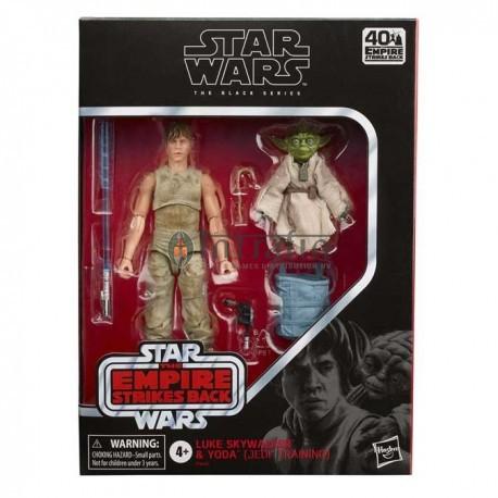 Star Wars Black Series Deluxe Luke and Yoda