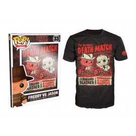 POP Tees 33 - Freddy vs Jason Deatchmatch (XXL)