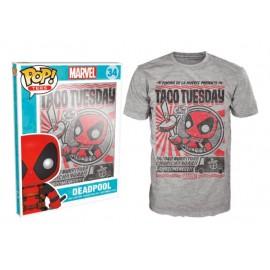 POP Tees 34 - Marvel - Deadpool -Taco Tuesday (XL)