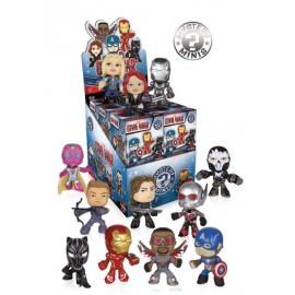 Mystery Mini Figures Display Captain America 2 Civil War (12