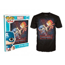 POP Tees 49 - Marvel - Civil War (M)