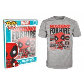 POP Tees 59 - Marvel - Mercenary for hire (XXL)
