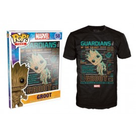 POP Tees 58 - Marvel - Groot (L)