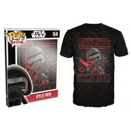 POP Tees 54 - Star Wars EPVII - Kylo Ren (M)