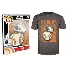 POP Tees 56 - Star Wars EPVII - BB-8 Rolling (XL)