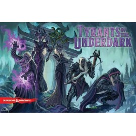D&D Tyrants of the Underdark boardgame