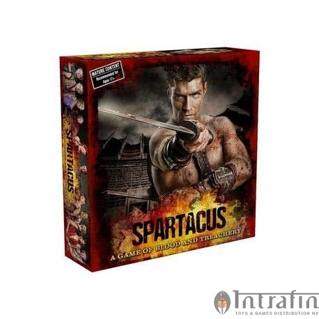 Spartacus Blood and Treachery