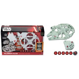 Star Wars EP VII - Mega Heroes Flying Falcon RC - 35.5cm
