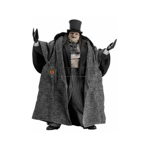 Batman Returns - 1/4th Scale Action Figure - Mayoral Penguin (Devito) (2 pieces)