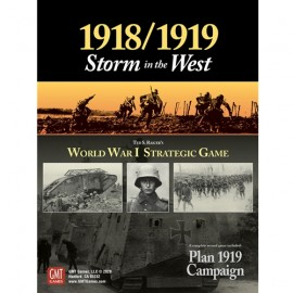 1918-1919: Storm in the West-board game