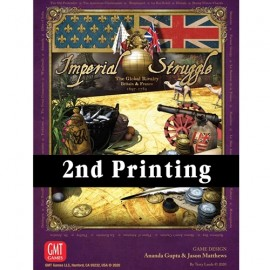 Imperial Struggle 2nd Printing - board Games