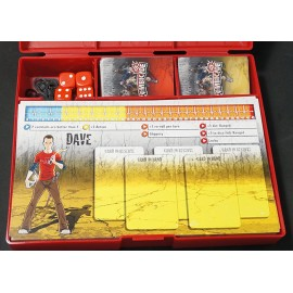 Zombicide Storage Boxes Red