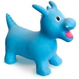 Happy Hopperz Blue Dino