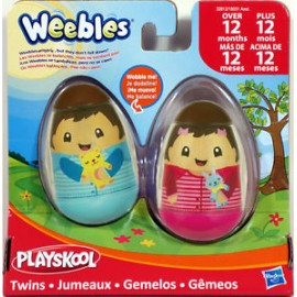 Weebles figures 2-pack