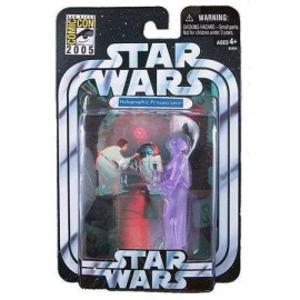 Star wars Princess Leia Hologram Comic Con 2005 Exclusive