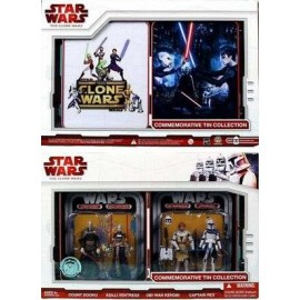 Clone Wars Tin collection (6p)