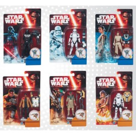 Star Wars EP VII - Action Figures SNOW DESERT Assortment (12)