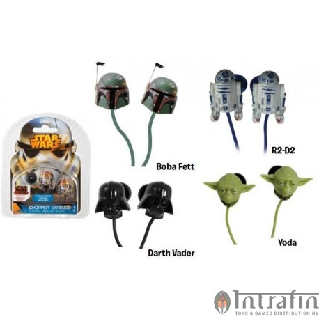 Star Wars - Earphones 3,5mm connection Assortment (12)
