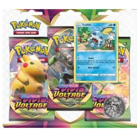 Pokémon SS4 Vivid Voltage 3-Booster Blister