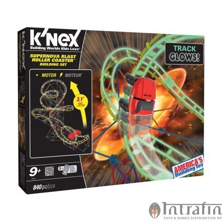 K'Nex 9+ Supernova blast coaster