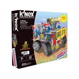 K'Nex Building Set 4 Wheel Dr Truck