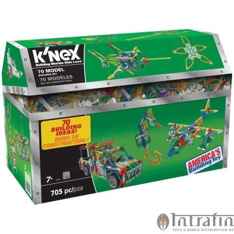 K'Nex Building Set 70 Models