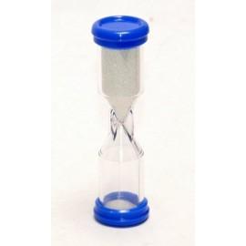 Sandtimer 2 minute Bleu