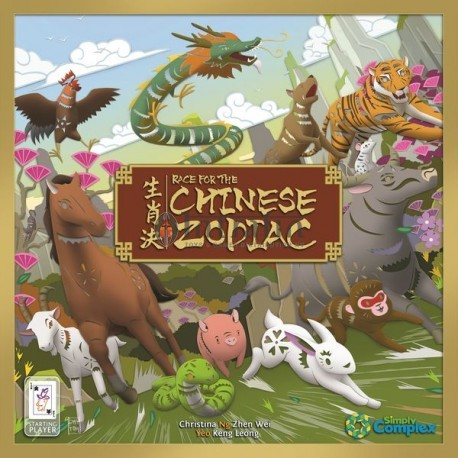 Race for the Chinese Zodiac- board game