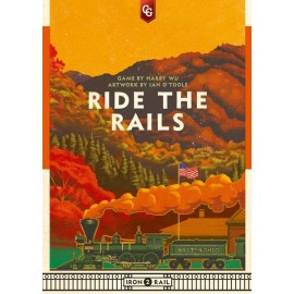 Ride the Rails - board game