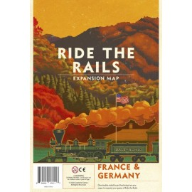 Ride the Rails: France & Germany - board game
