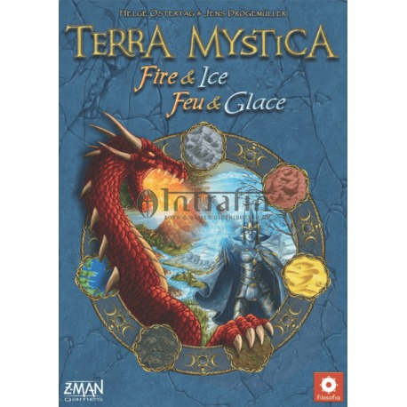 Terra Mystica: Fire & Ice - Z-Man Version- board game