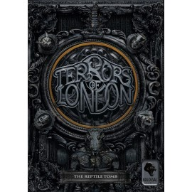 Terrors of London: The Reptile Tomb Expansion-board game