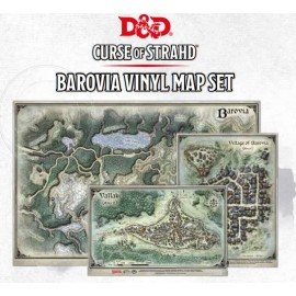 "Curse of Strahd- Map Set (24""x16"", 9""x12"", 8""x13"")"