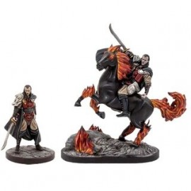 Curse of Strahd - Strahd Foot & Mounted (2 figs)