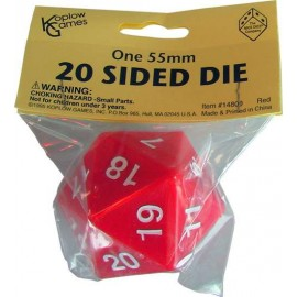 D20 Mega 55mm Red Spindown