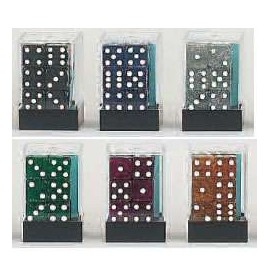 D6 Brick Glitter Dice (12)