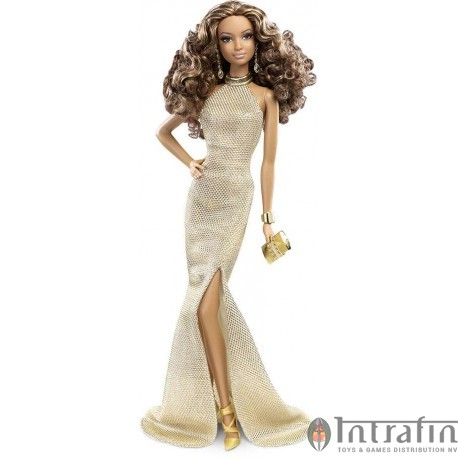 Barbie Red Carpet Gold Gown